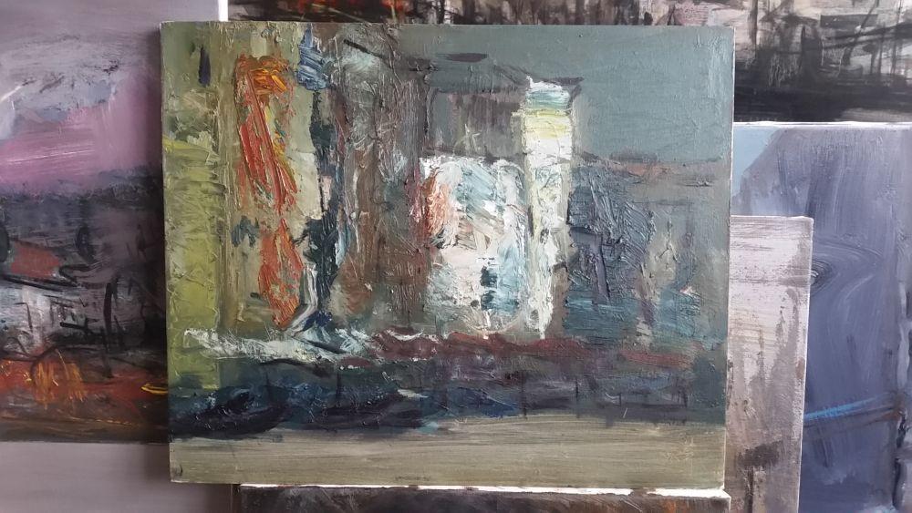 adelaparvu.com despre atelierul pictorului Eugen Raportoru, test SeeColors Samsung (22)