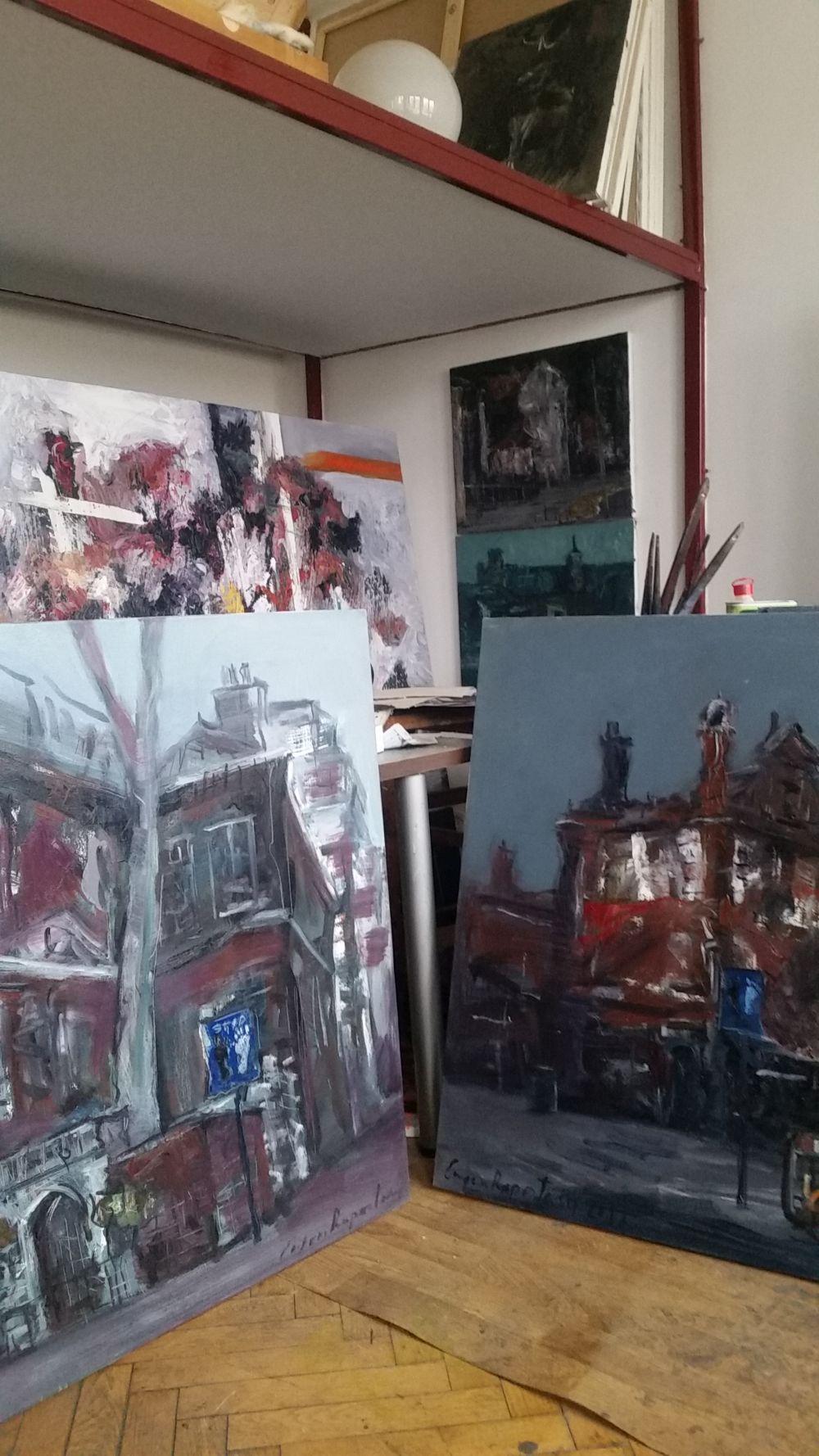adelaparvu.com despre atelierul pictorului Eugen Raportoru, test SeeColors Samsung (3)