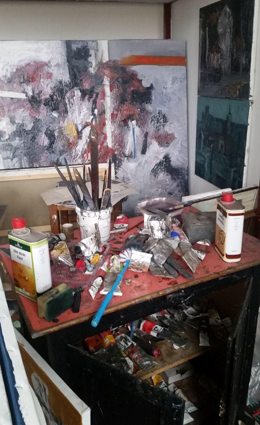 adelaparvu.com despre atelierul pictorului Eugen Raportoru, test SeeColors Samsung (7)