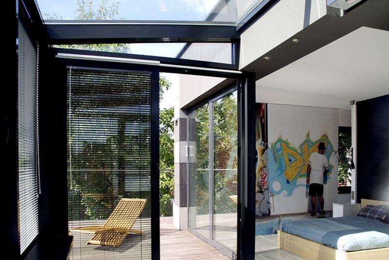 adelaparvu.com despre casa de artist, Design Anna Kimta, Foto Michael Skorupski, Weranda (5)