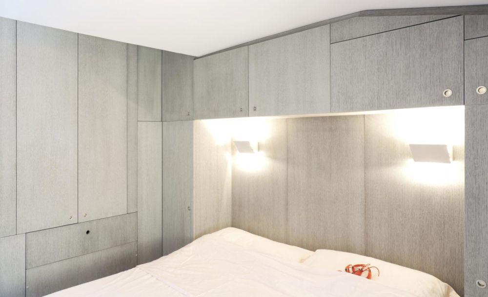 adelaparvu.com despre garsoniera 35 mp in Camogli, Italia, Design Gosplan, Foto Anna Positano (9)