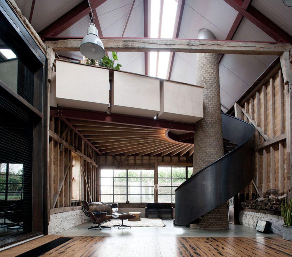 adelaparvu.com despre hambar spectaculos transformat, Arhitectura Liddicoat & Goldhill, Foto Will Scott (20)