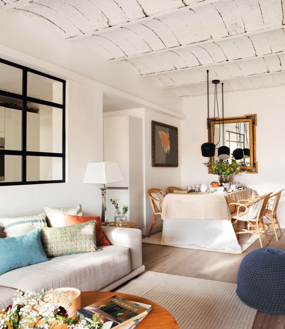 adelaparvu.com despre reamenajare apartament de 60 mp, Designer Pia Cadevila, Foto Pepa Oromi, ElMueble (10)