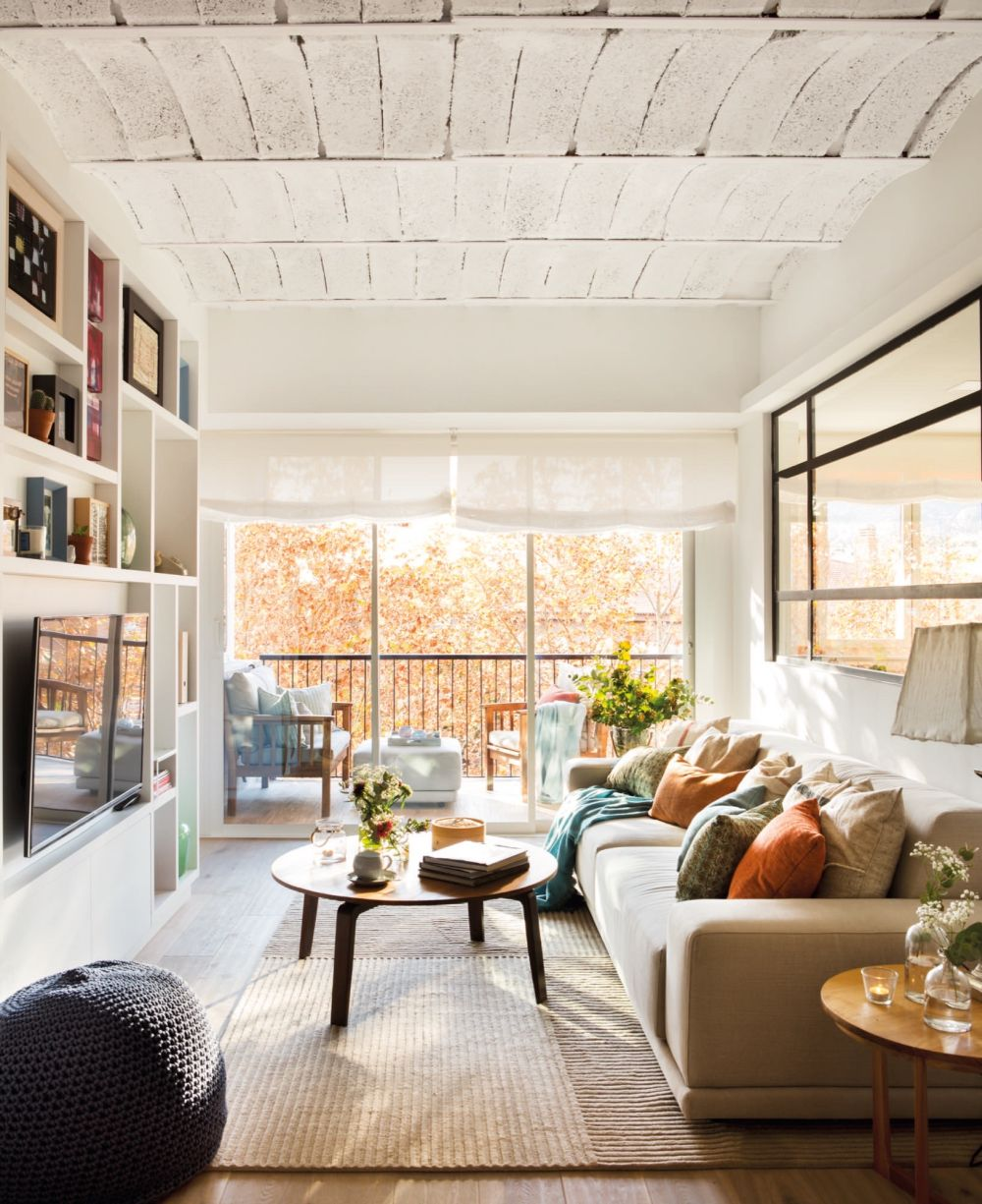 adelaparvu.com despre reamenajare apartament de 60 mp, Designer Pia Cadevila, Foto Pepa Oromi, ElMueble (12)