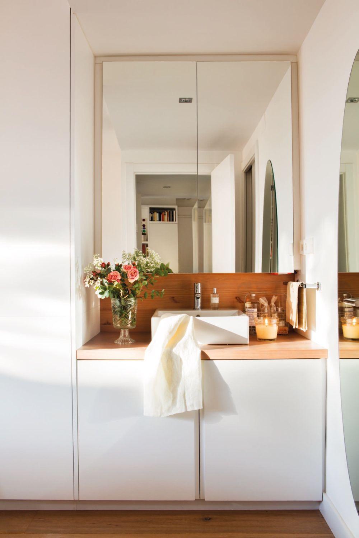 adelaparvu.com despre reamenajare apartament de 60 mp, Designer Pia Cadevila, Foto Pepa Oromi, ElMueble (2)
