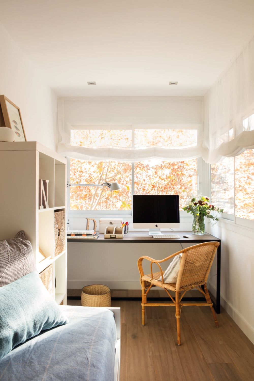 adelaparvu.com despre reamenajare apartament de 60 mp, Designer Pia Cadevila, Foto Pepa Oromi, ElMueble (3)