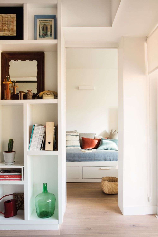 adelaparvu.com despre reamenajare apartament de 60 mp, Designer Pia Cadevila, Foto Pepa Oromi, ElMueble (4)