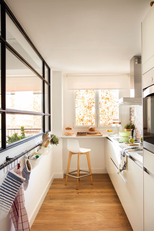 adelaparvu.com despre reamenajare apartament de 60 mp, Designer Pia Cadevila, Foto Pepa Oromi, ElMueble (6)