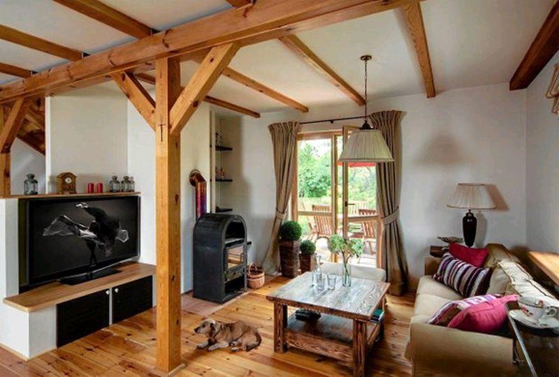 adelaparvu.com despre casa rustica cu terasa, casa Polonia, design Studio Deccor, Foto Piotr Mastalerz (1)