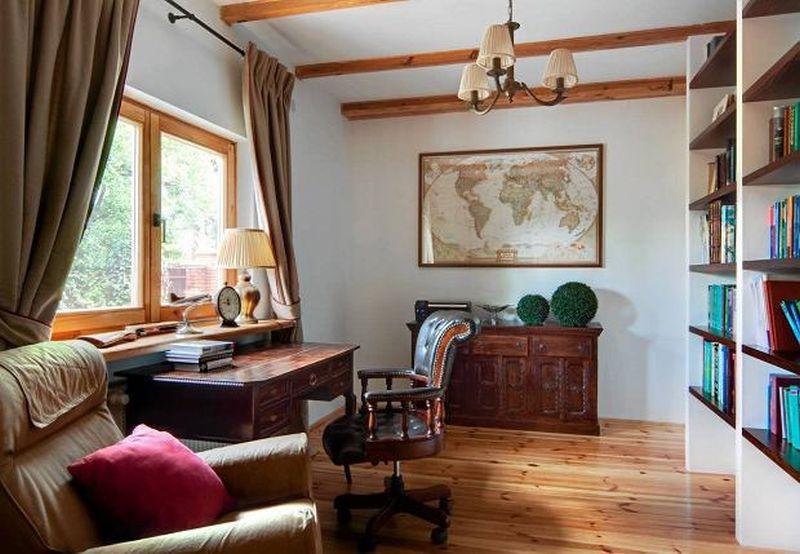 adelaparvu.com despre casa rustica cu terasa, casa Polonia, design Studio Deccor, Foto Piotr Mastalerz (10)