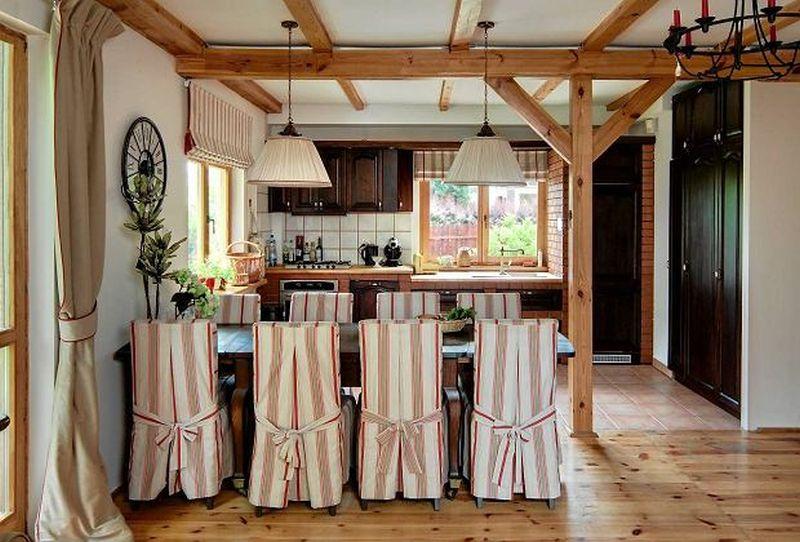 adelaparvu.com despre casa rustica cu terasa, casa Polonia, design Studio Deccor, Foto Piotr Mastalerz (11)