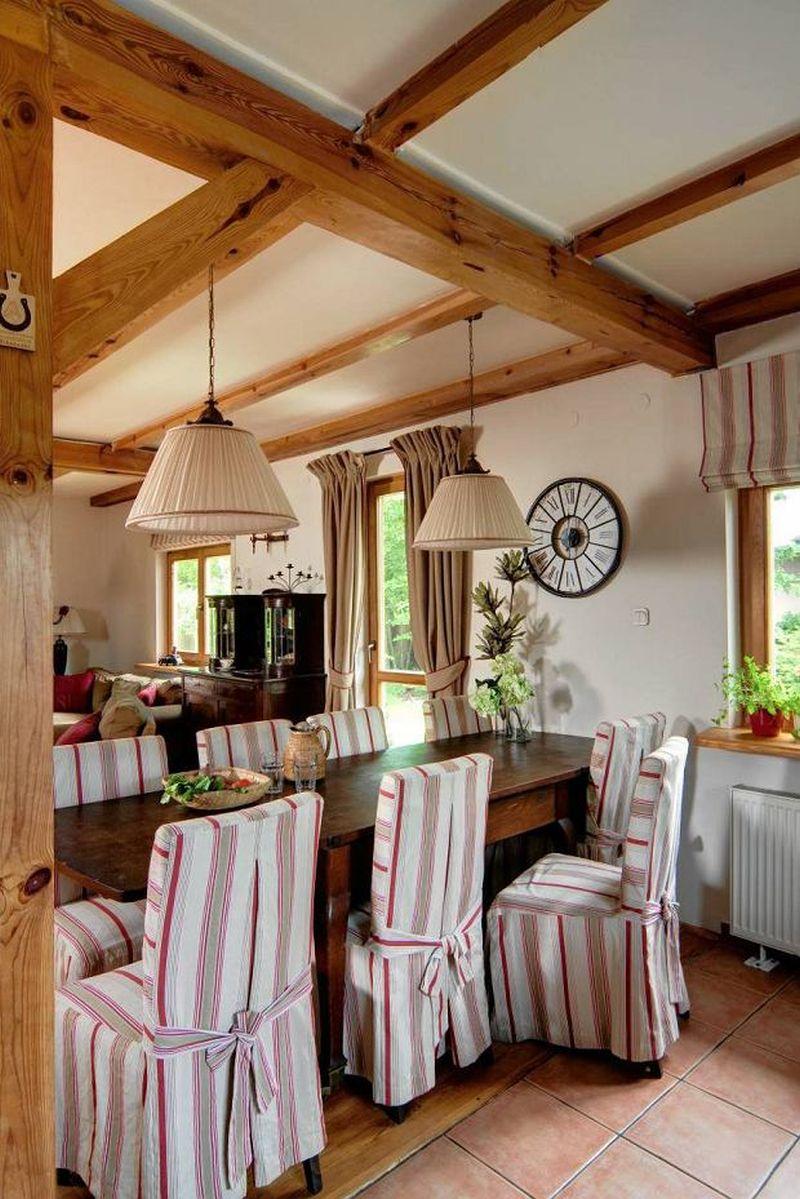 adelaparvu.com despre casa rustica cu terasa, casa Polonia, design Studio Deccor, Foto Piotr Mastalerz (17)
