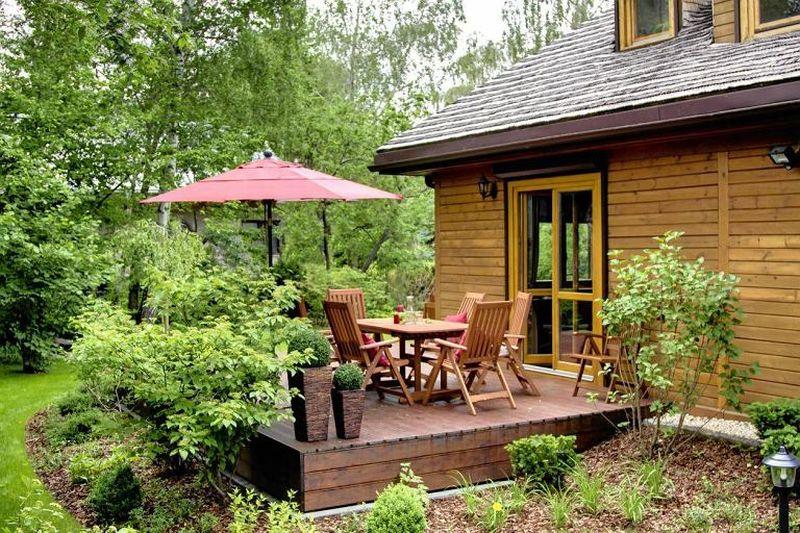adelaparvu.com despre casa rustica cu terasa, casa Polonia, design Studio Deccor, Foto Piotr Mastalerz (3)
