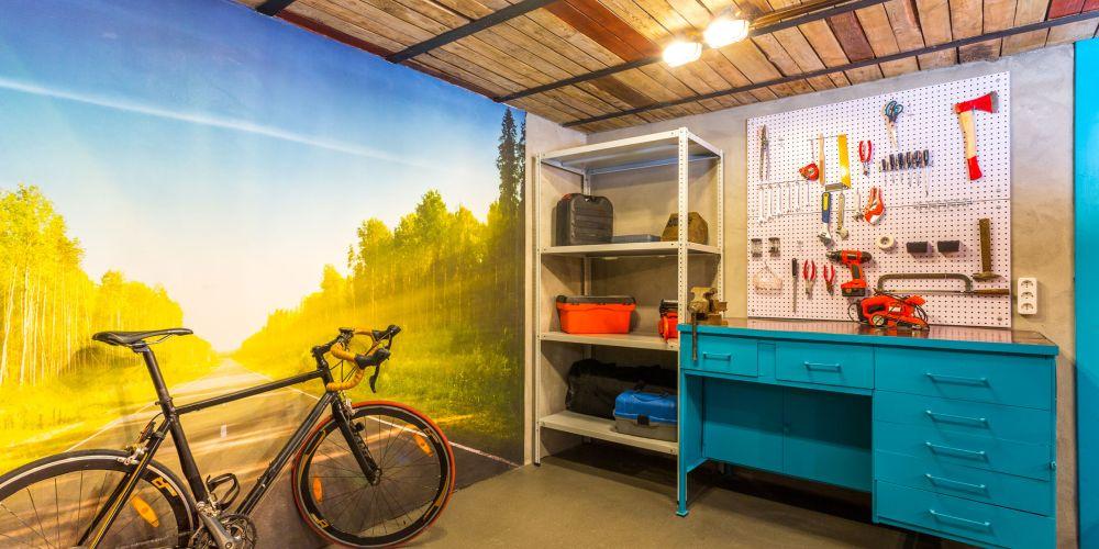 adelaparvu.com despre garaj transformat in club barbatesc, Designer Julia Tolkacheva, Foto Yuri Tokarev (10)