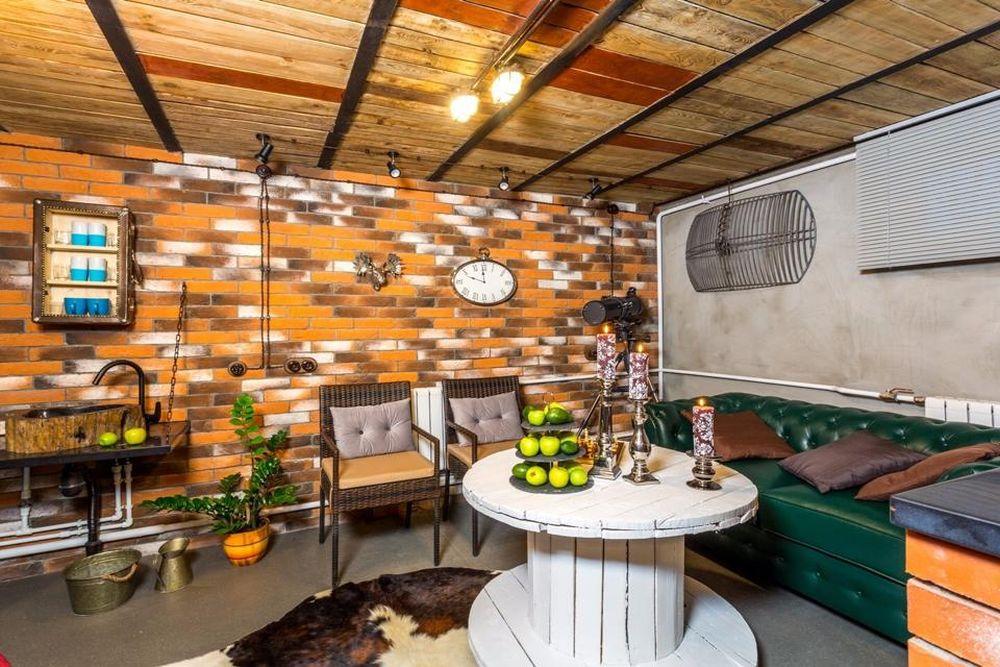 adelaparvu.com despre garaj transformat in club barbatesc, Designer Julia Tolkacheva, Foto Yuri Tokarev (16)