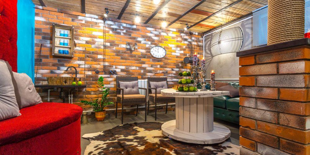 adelaparvu.com despre garaj transformat in club barbatesc, Designer Julia Tolkacheva, Foto Yuri Tokarev (4)