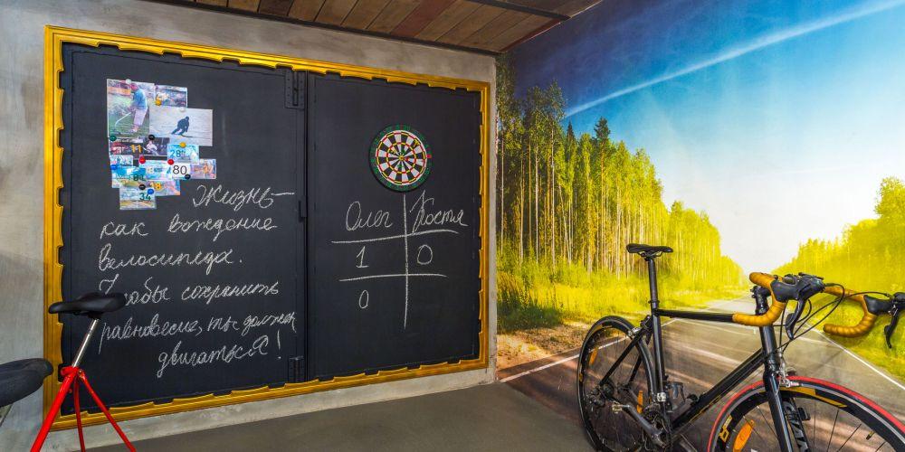 adelaparvu.com despre garaj transformat in club barbatesc, Designer Julia Tolkacheva, Foto Yuri Tokarev (5)