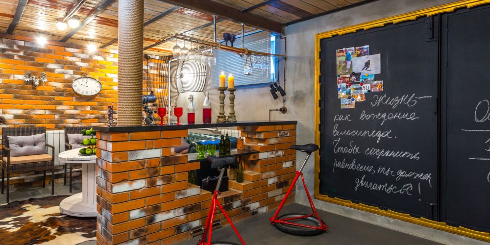 adelaparvu.com despre garaj transformat in club barbatesc, Designer Julia Tolkacheva, Foto Yuri Tokarev (6)