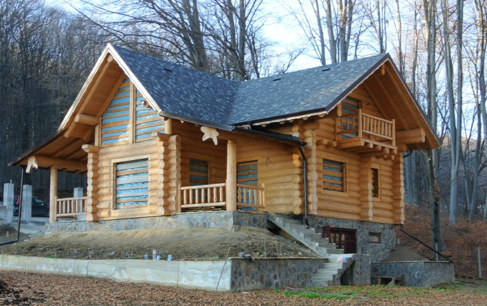 adelaparvu.com despre acoperisuri Tegola, cabana zona Suceava (2)