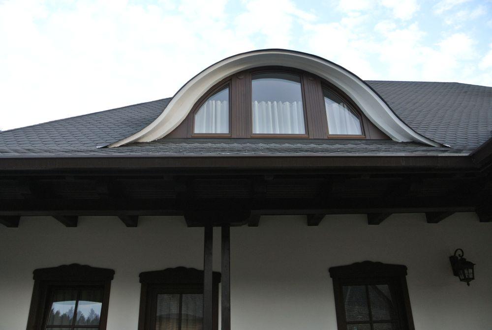 Detaliu acoperiș Tegola. Proiect casă semnat de arh. Ciprian Hison