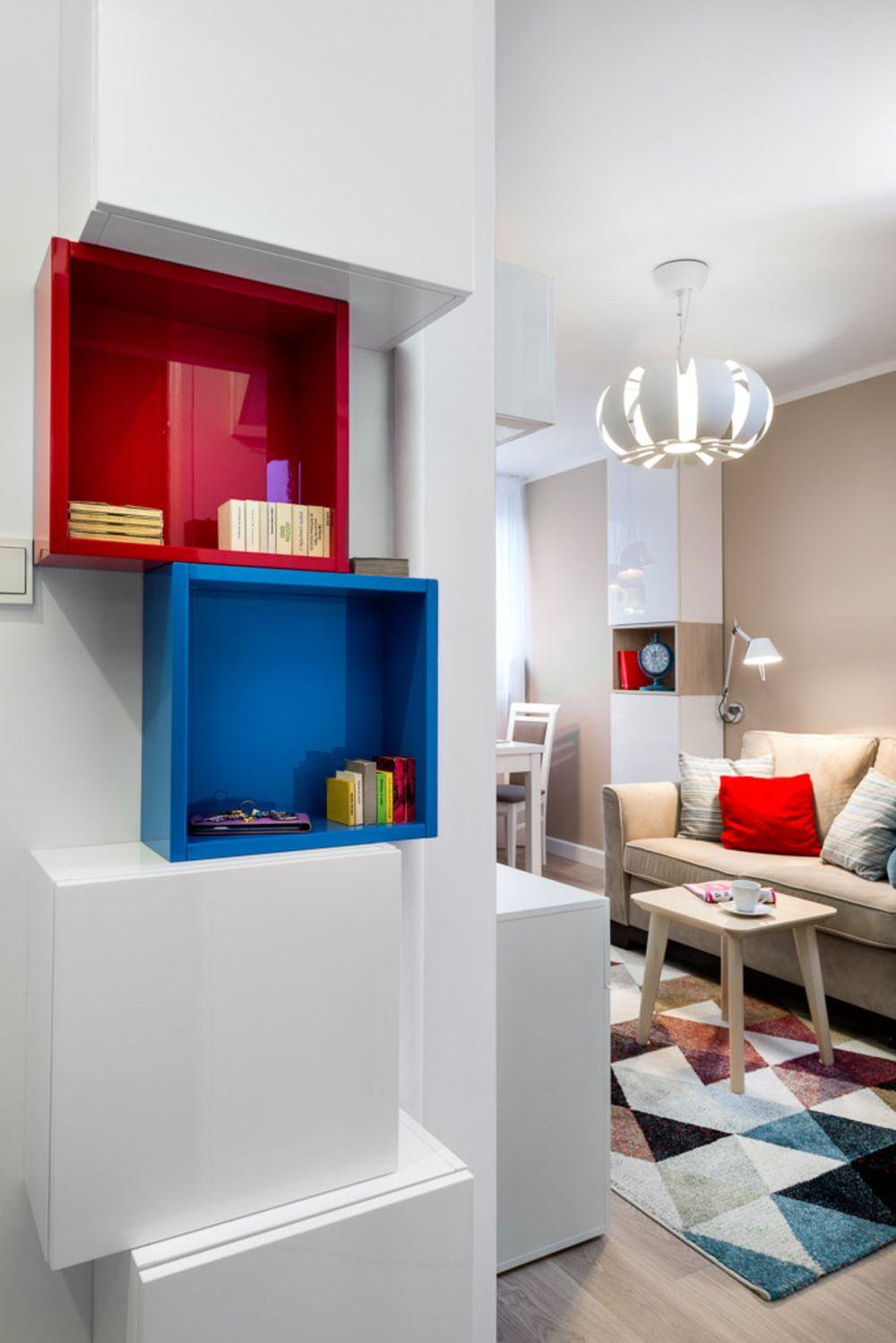 adelaparvu.com despre amenajare garsoniera 33 mp, Design Red Cube Design, Foto Mateusz Torbus (6)