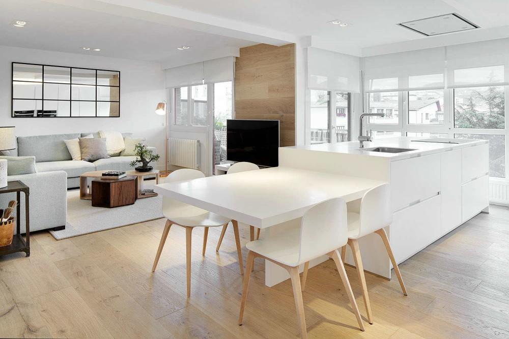 adelaparvu.com despre apartament cu 5 camere, Spania, Zarautz, designer Inigo Echave, Foto Echave Decoracion (5)