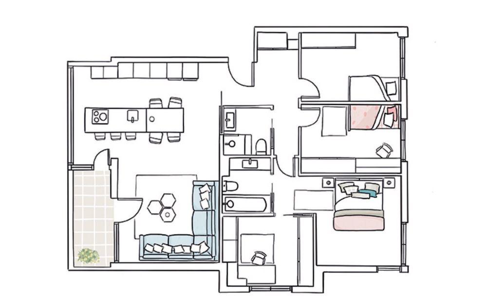 adelaparvu.com despre apartament cu 5 camere, Spania, Zarautz, designer Inigo Echave, Foto ElMueble (11)