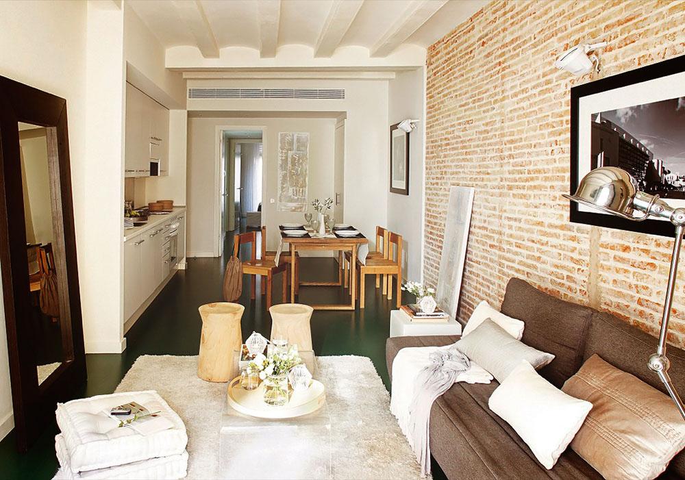 adelaparvu.com despre apartament lung si ingust de 55 mp, tip loft, Barcelona, Foto Hearst Documentation (3)