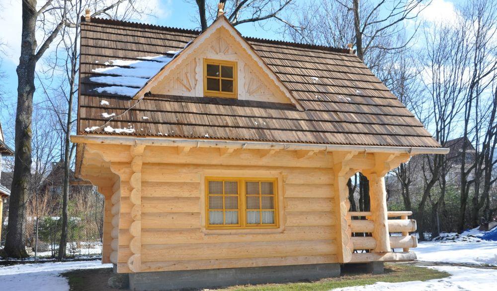adelaparvu.com despre casa de vacanta din barne lemn, 52 mp, Design si foto The Little Log House Company, Polonia (11)