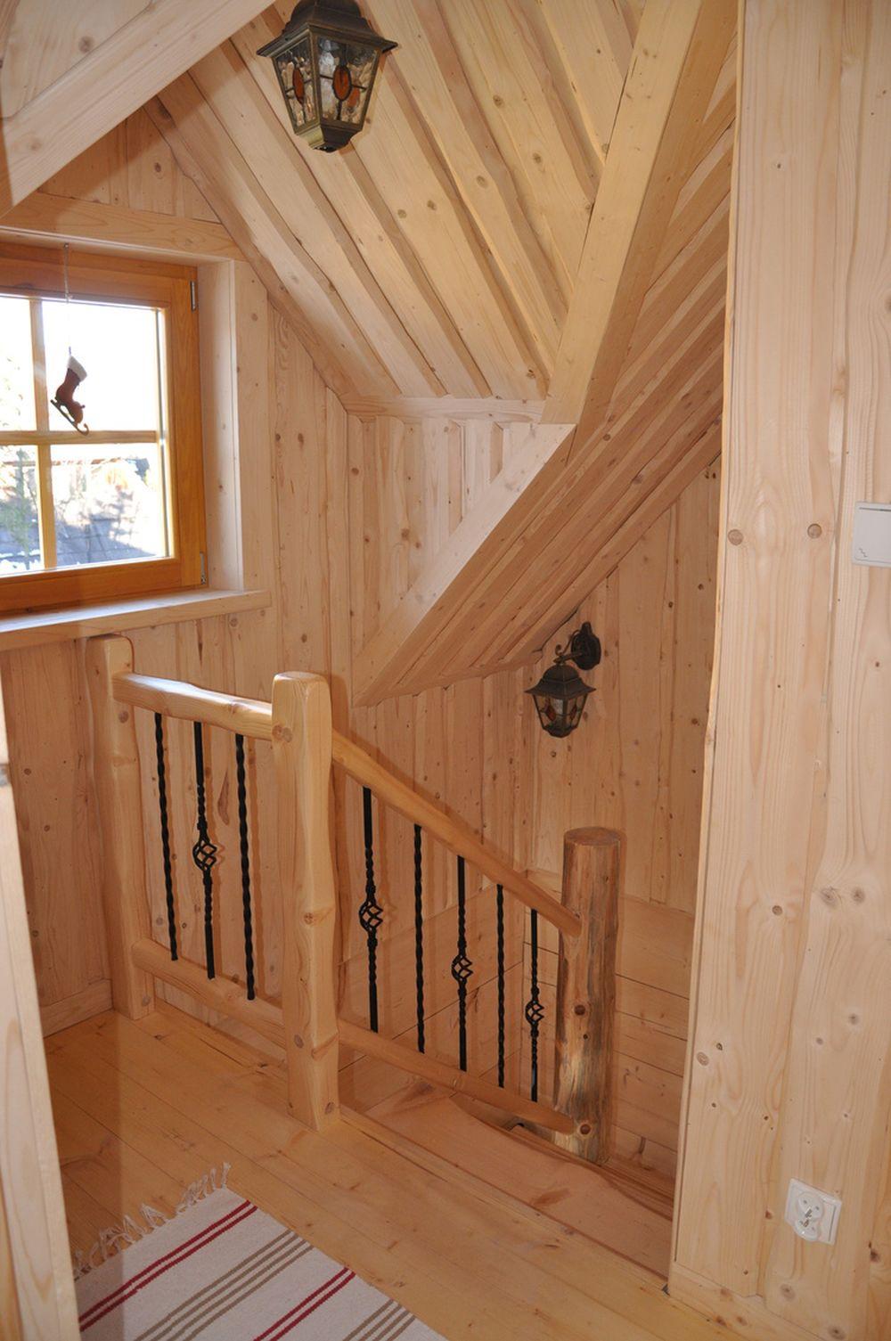 adelaparvu.com despre casa de vacanta din barne lemn, 52 mp, Design si foto The Little Log House Company, Polonia (16)