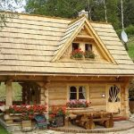 adelaparvu.com despre casa de vacanta din barne lemn, 52 mp, Design si foto The Little Log House Company, Polonia (20)