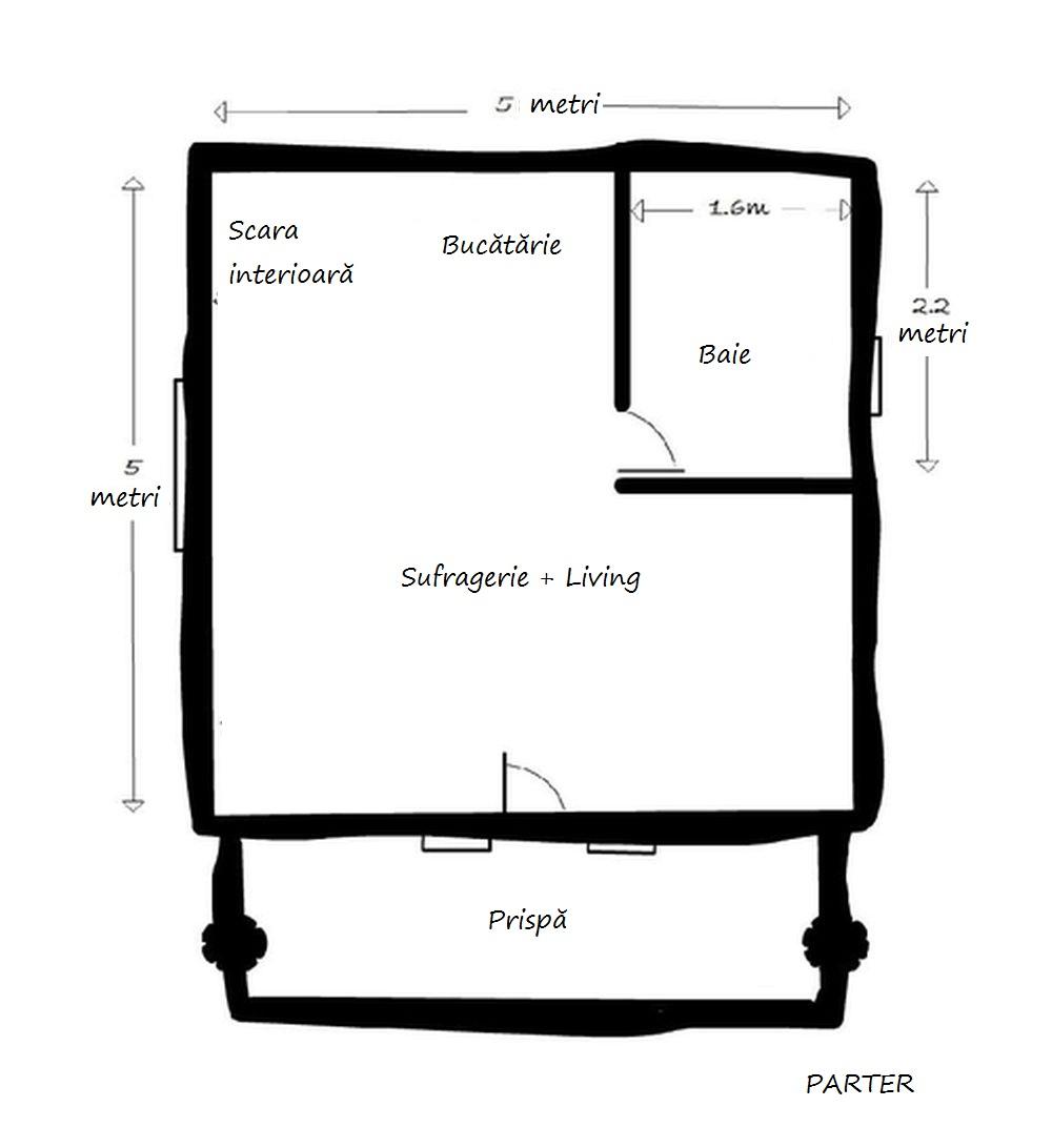 adelaparvu.com despre casa de vacanta din barne lemn, 52 mp, Design si foto The Little Log House Company, Polonia (8)