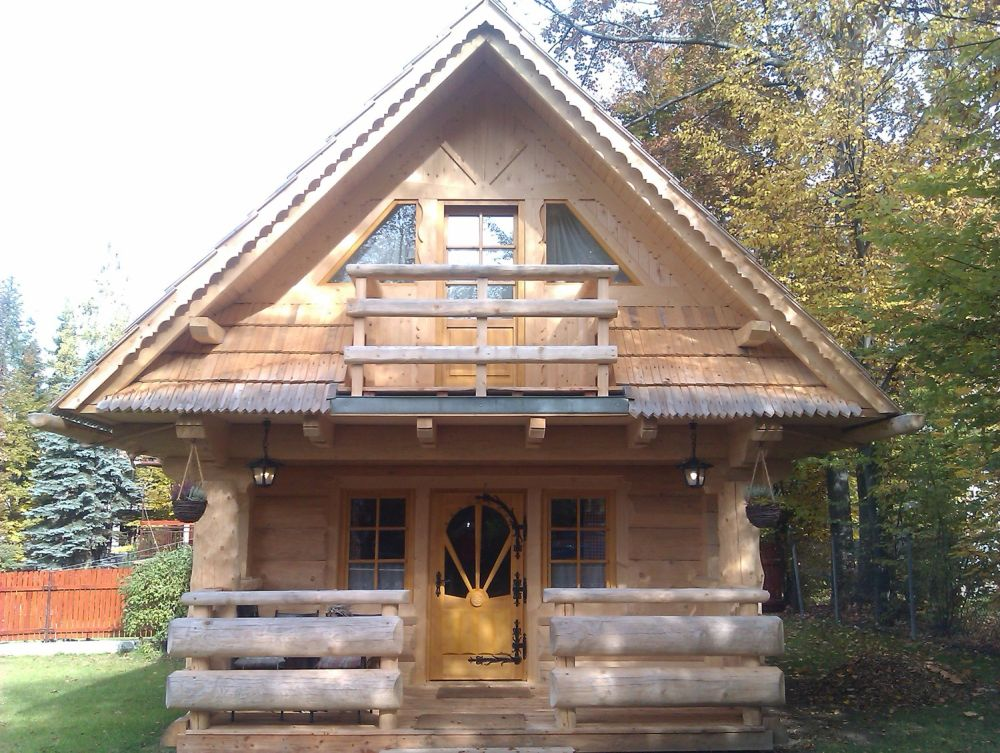 adelaparvu.com despre casa de vacanta din barne lemn, 52 mp, Design si foto The Little Log House Company, Polonia (9)