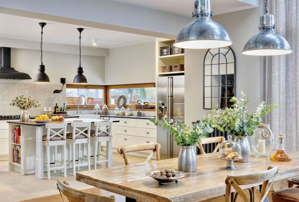 adelaparvu.com despre casa in stil toscan, casa Polonia, Design Alex Design, Foto Radoslaw Wojnar (14)