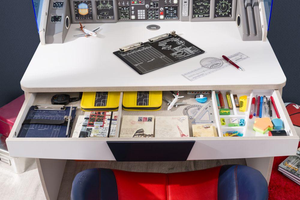 adelaparvu.com despre colectia mobila de tineret First Class de la Kika, tema aviatie (3)