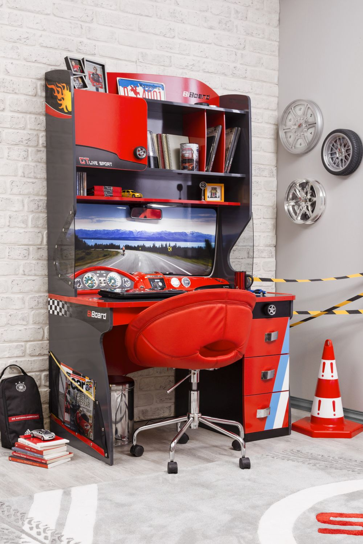 adelaparvu.com despre mobila de tineret personalizata, tema auto, de la Kika (2)