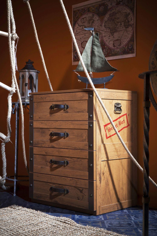 adelaparvu.com despre mobila personalizata tema pirati, camere copii Pirate de la Kika (11)