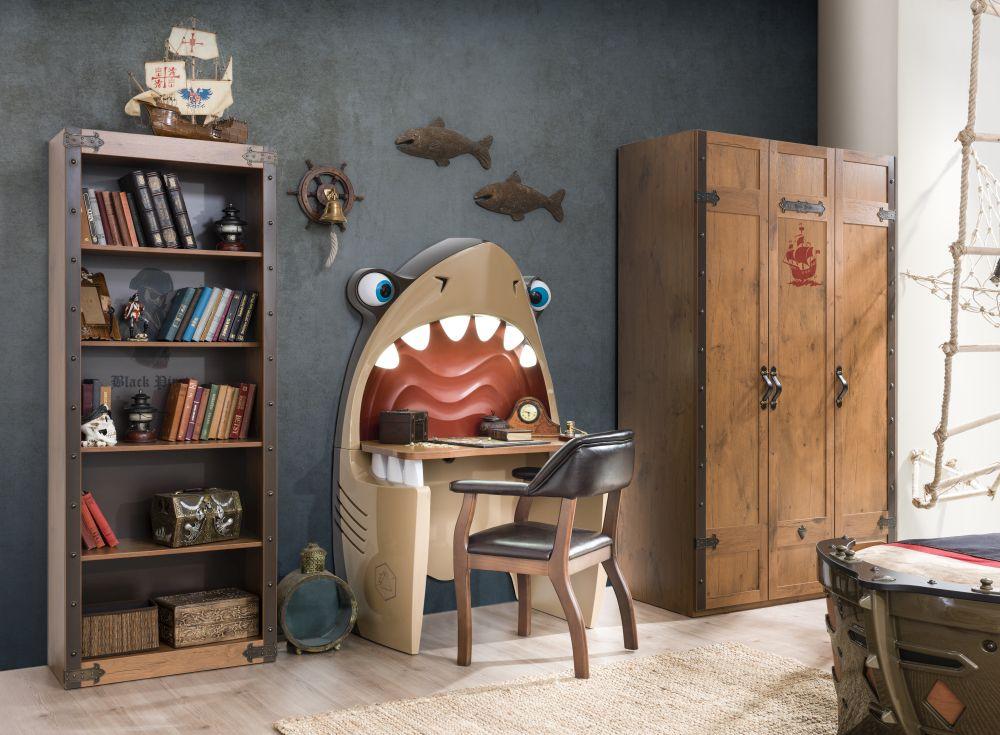 adelaparvu.com despre mobila personalizata tema pirati, camere copii Pirate de la Kika (12)