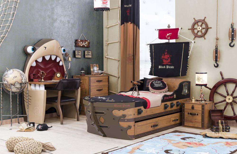 adelaparvu.com despre mobila personalizata tema pirati, camere copii Pirate de la Kika (13)