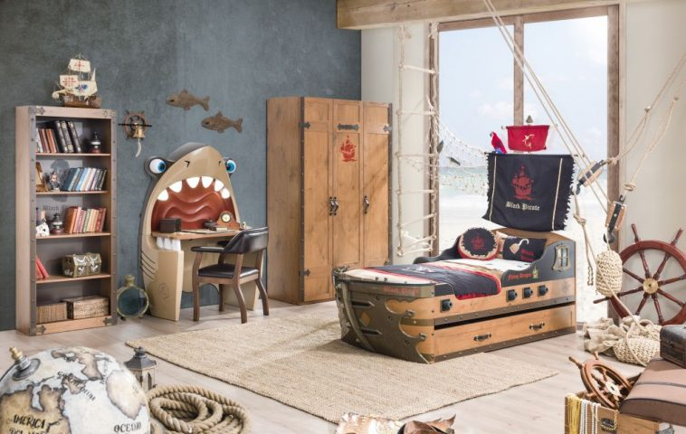 adelaparvu.com despre mobila personalizata tema pirati, camere copii Pirate de la Kika (14)