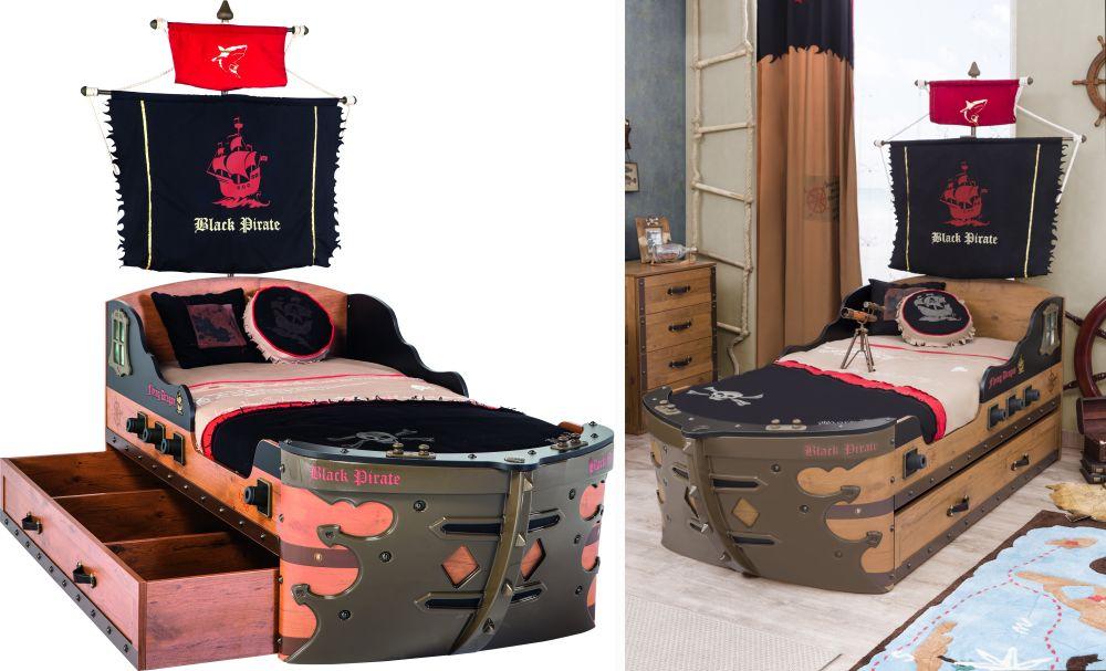 adelaparvu.com despre mobila personalizata tema pirati, camere copii Pirate de la Kika (2)