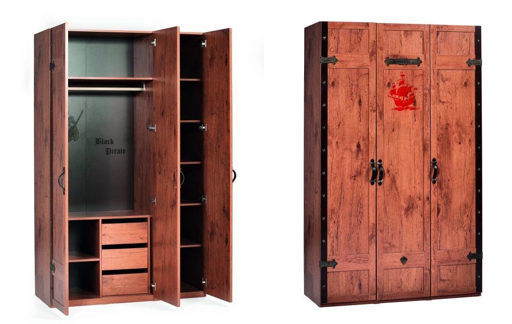 adelaparvu.com despre mobila personalizata tema pirati, camere copii Pirate de la Kika (3)
