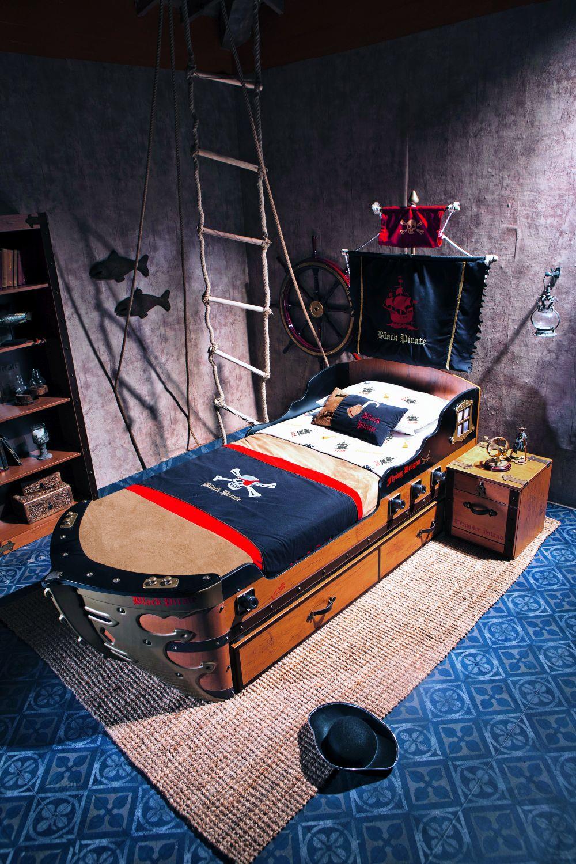 adelaparvu.com despre mobila personalizata tema pirati, camere copii Pirate de la Kika (9)