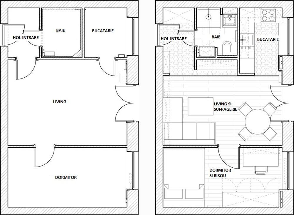 adelaparvu.com despre amenajare apartament 2 camere, 36 mp, Polonia, design interior Magdalena Ilmer, Foto Boho Studio (11)