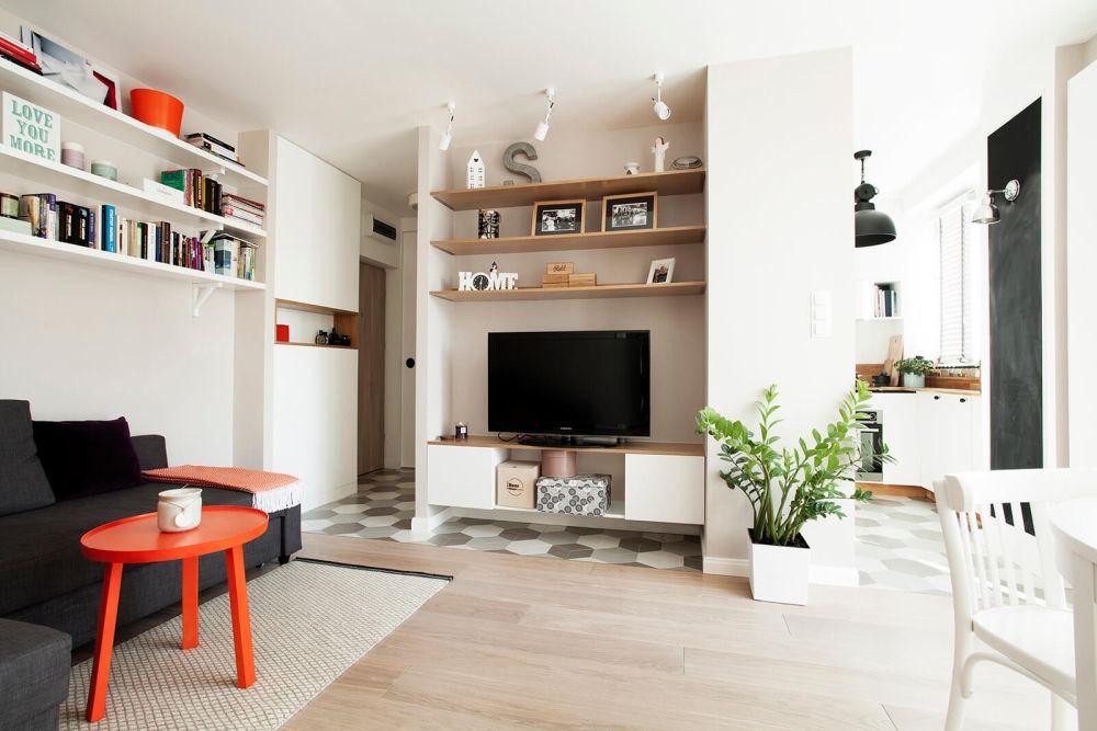 adelaparvu.com despre amenajare apartament 2 camere, 36 mp, Polonia, design interior Magdalena Ilmer, Foto Boho Studio (12)