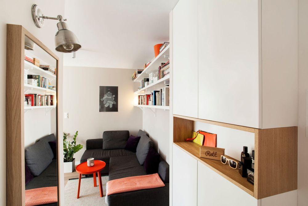 adelaparvu.com despre amenajare apartament 2 camere, 36 mp, Polonia, design interior Magdalena Ilmer, Foto Boho Studio (2)