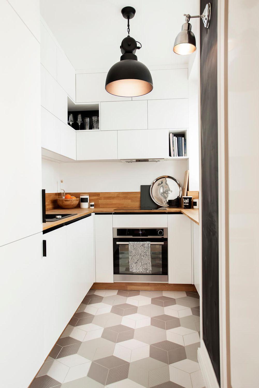 adelaparvu.com despre amenajare apartament 2 camere, 36 mp, Polonia, design interior Magdalena Ilmer, Foto Boho Studio (3)