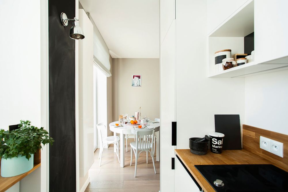 adelaparvu.com despre amenajare apartament 2 camere, 36 mp, Polonia, design interior Magdalena Ilmer, Foto Boho Studio (5)