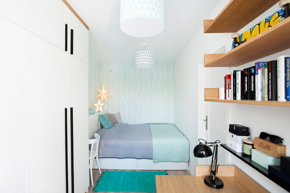 adelaparvu.com despre amenajare apartament 2 camere, 36 mp, Polonia, design interior Magdalena Ilmer, Foto Boho Studio (6)
