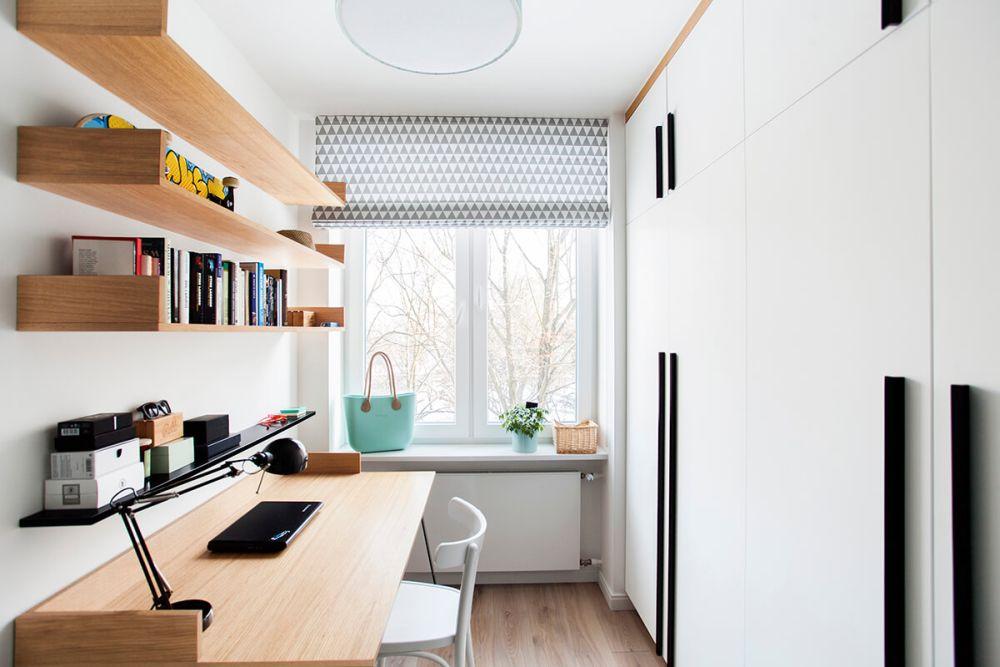 adelaparvu.com despre amenajare apartament 2 camere, 36 mp, Polonia, design interior Magdalena Ilmer, Foto Boho Studio (7)